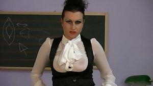 Mistress Trinity - Fetish Goddess... Off colour School pt.1