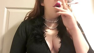 Fat Goth Teen relating to Big Perky Tits Smoking Peppery Quid Tip 100 in Pearls