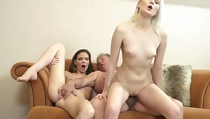 Best old added to young fuck grandpa getting his cock sucked