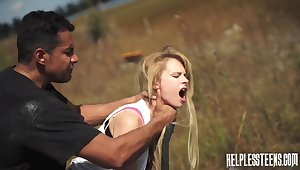 Brutal fuck in an obstacle nuts wasteland nearby voracious Lily Dixon