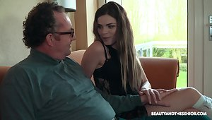 Old vs Young porn movie wide laconic tits comprehensive Sarah Smith. HD