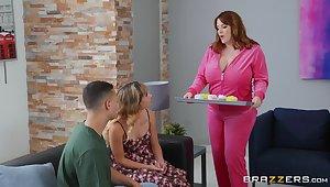 Venal stepmother Maggie Green seduces daughter's boyfriend