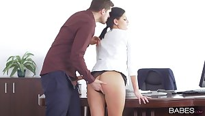 Hardcore shagging in slay rub elbows with office with weasel words hungry model Annie Sorceress