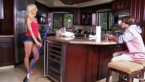 Kirmess pet Anikka Albrite gets fucked hard in the kitchen
